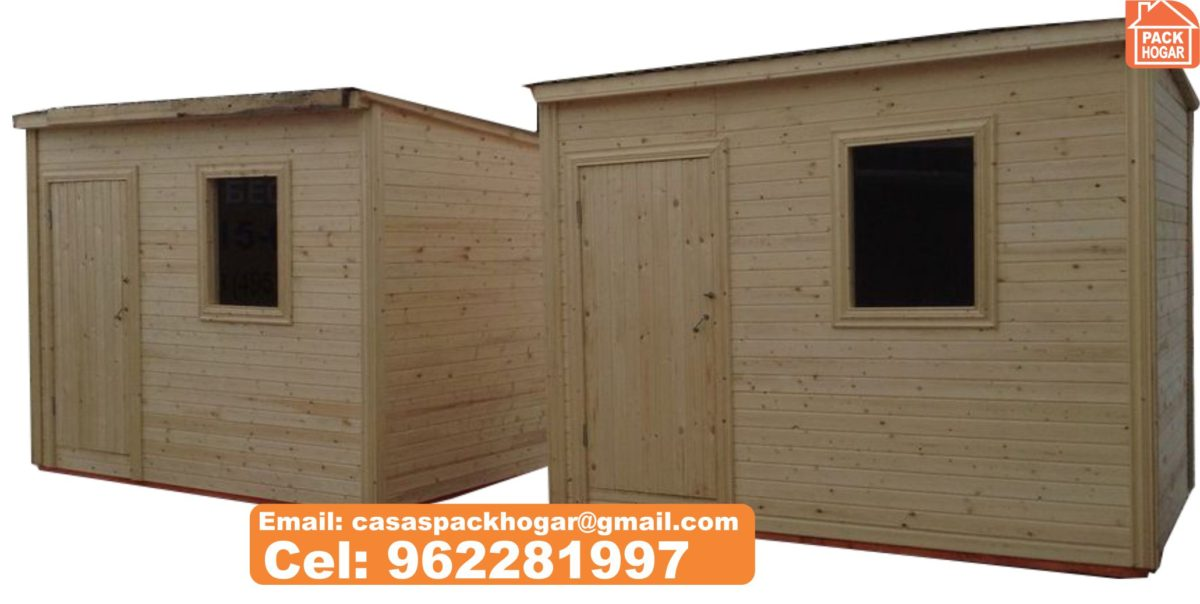 modelo de casetas de madera