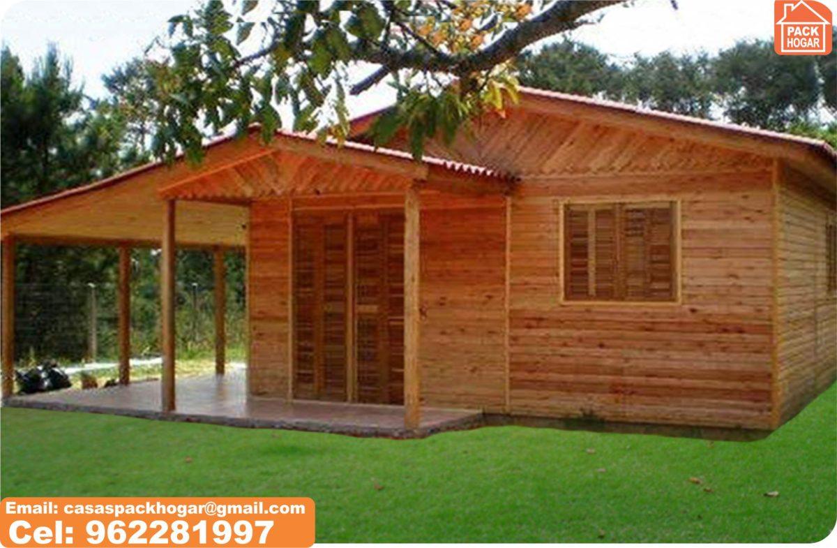 construcción de bungalows baratos prefabricadas de madera – en Perú