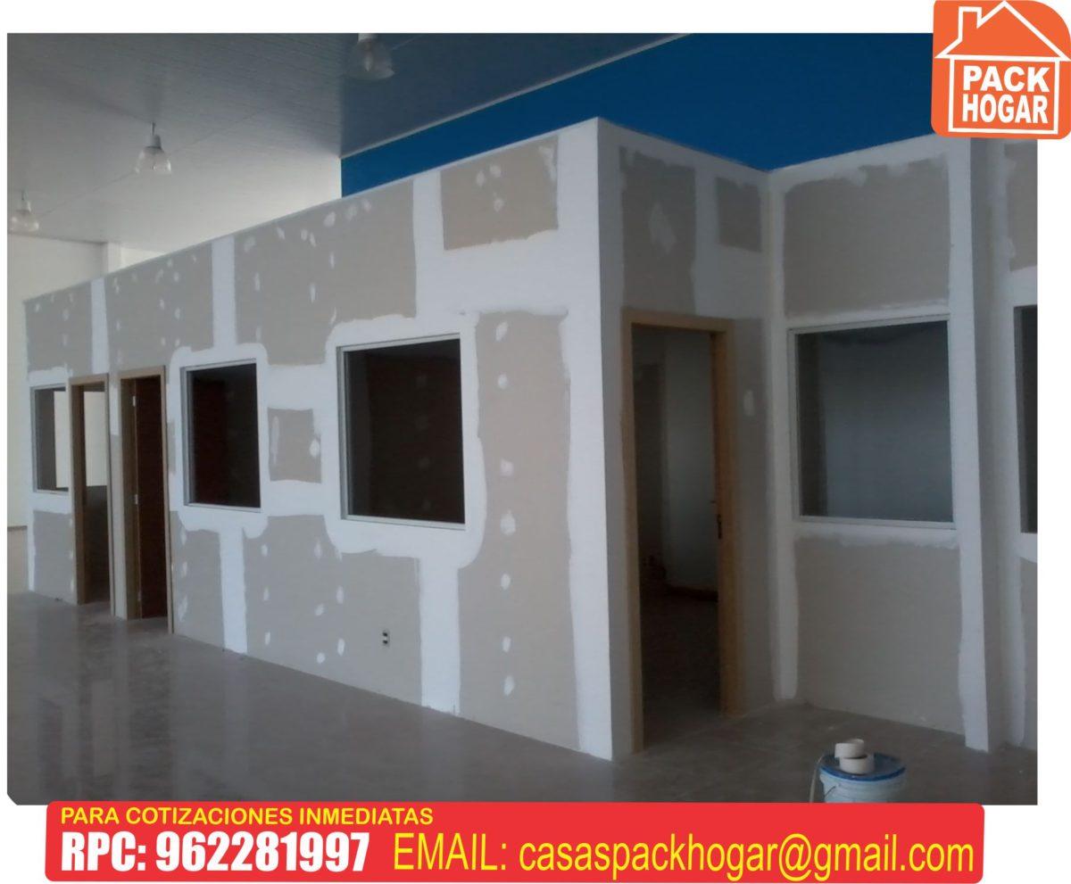 casas prefabricadas en drywall lima peru