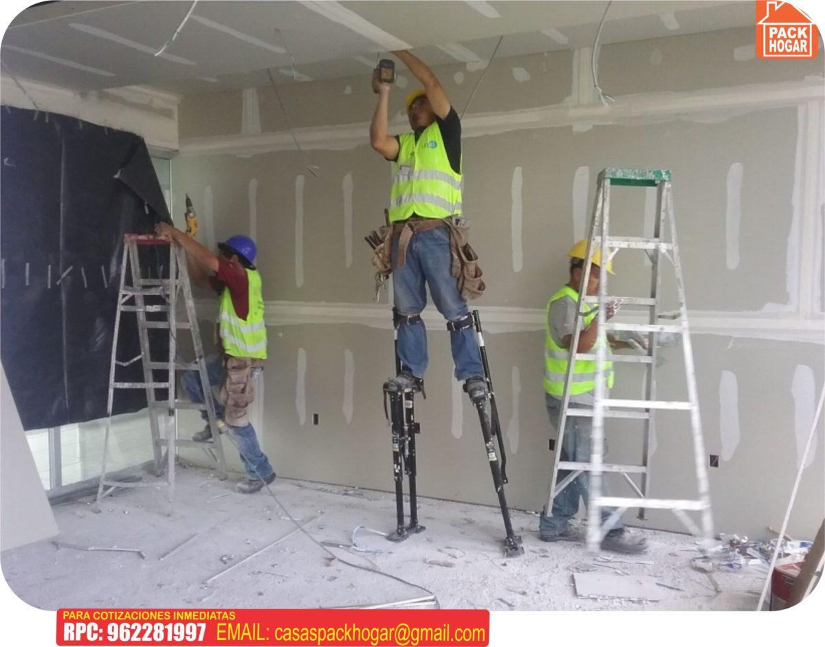Construcción con planchas drywall  Plancha de yeso precios y modelos