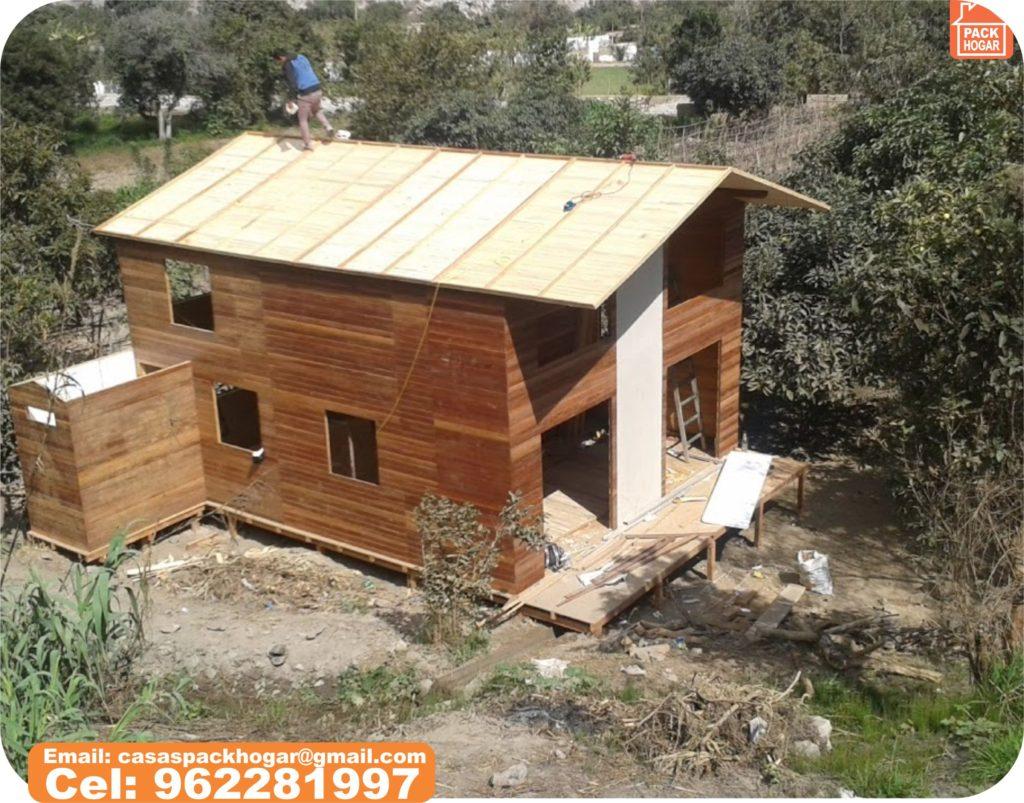casas prefabricadas de madera durabilidad