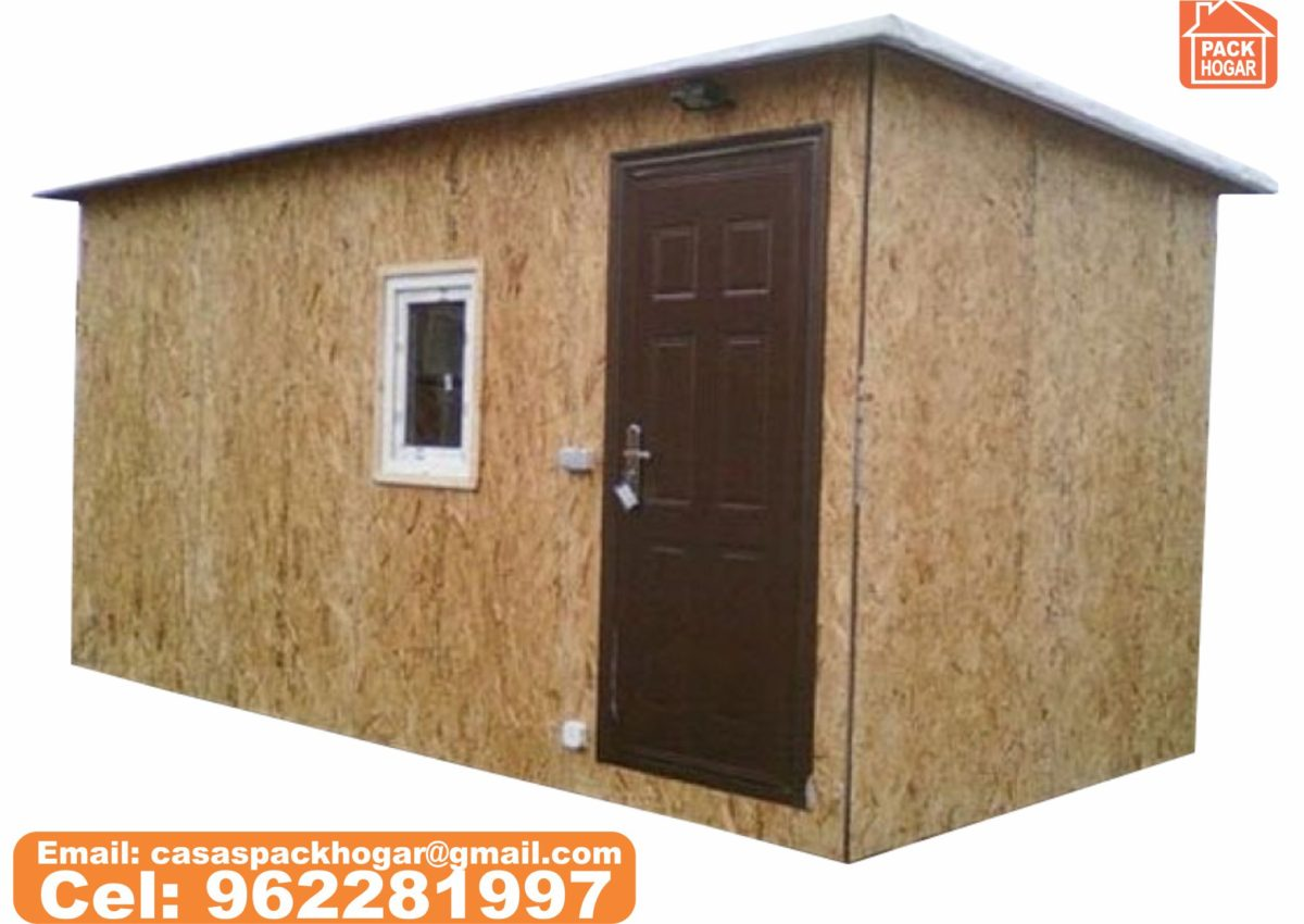 Caseta prefabricados de madera idóneos para azoteas y terrazas de edificios