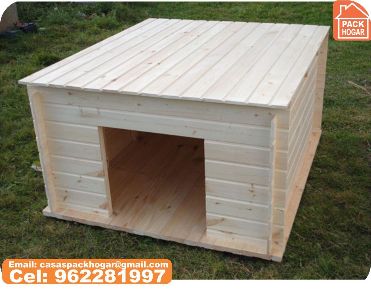 Caseta de invierno prefabricadas de madera para mascotas