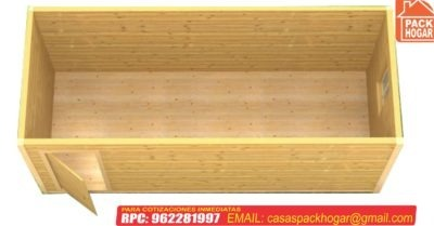 caseta prefabricada de madera