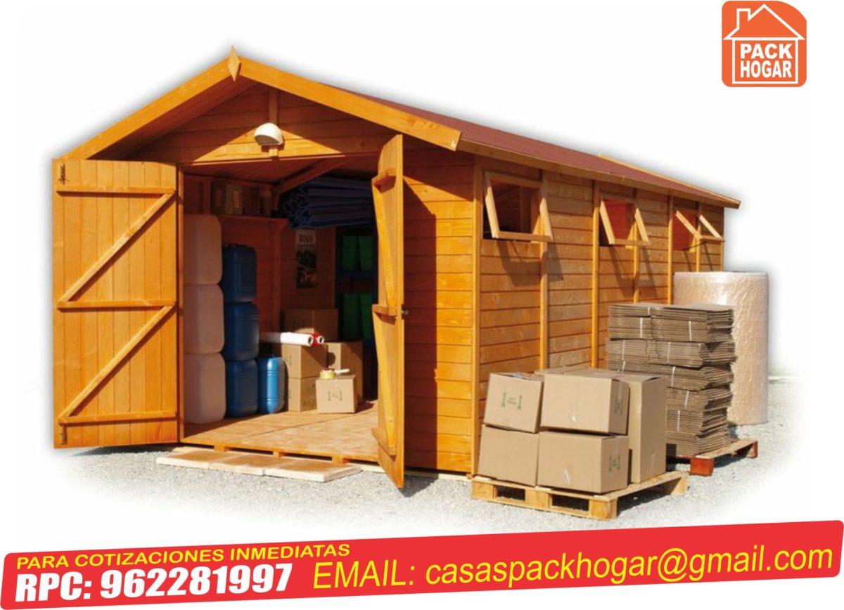 Casetas de madera – módulos prefabricados – cabinas de madera
