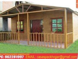 casa prefabricada de madera 100m2
