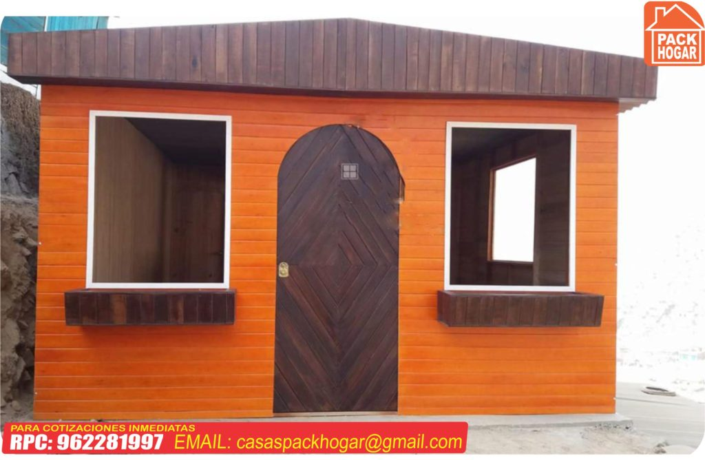 casa prefabricada de 40m2