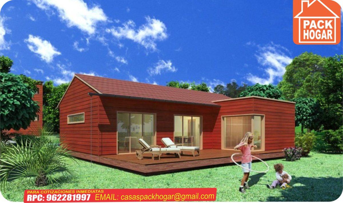 casa de campo de madera