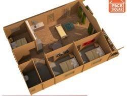 casas prefabricadas de 3 dormitorios