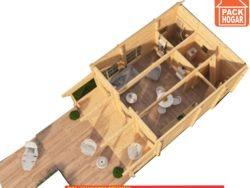 casa dos pisos 1 dormitorio
