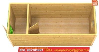 Caseta prefabricada para obras