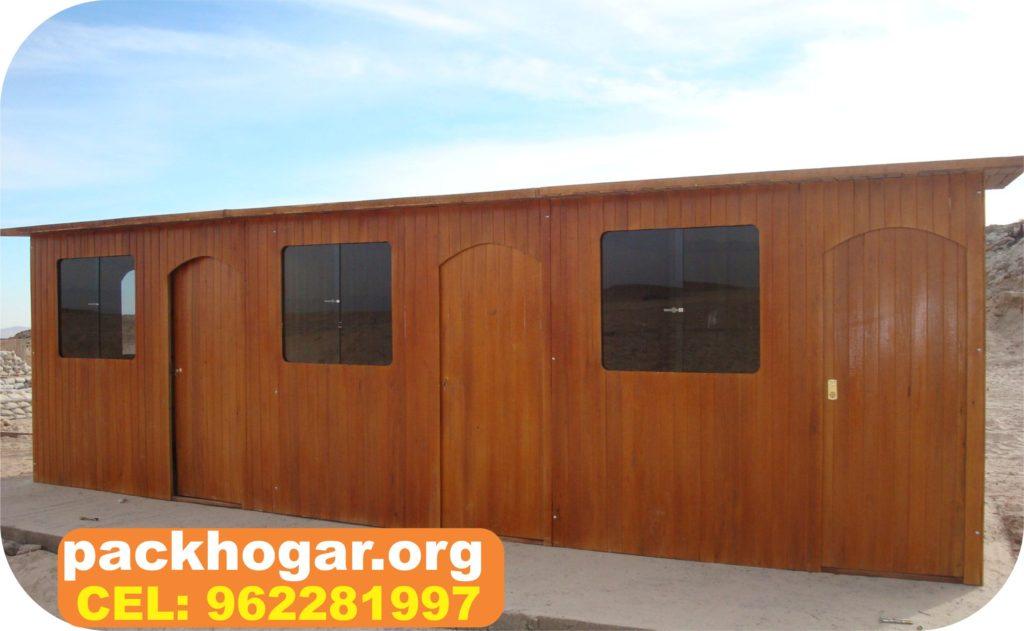 casa prefabricadas de madera a precios económicos