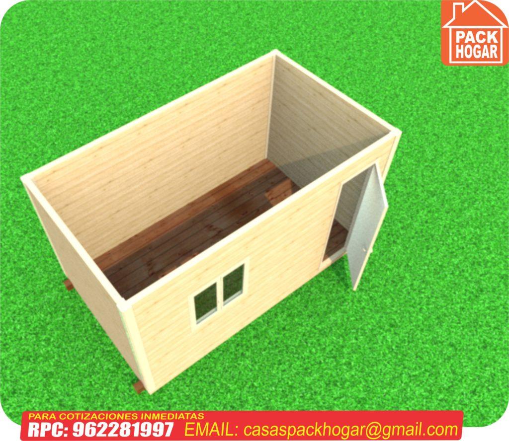 caseta para obra de construcción