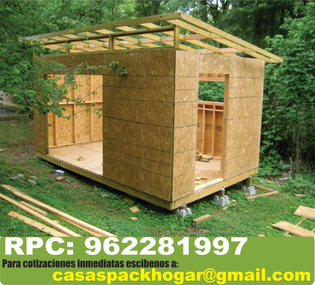 Casetas prefabricadas para jardín