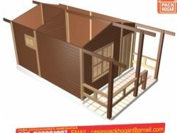 casas prefabricadas de madera dura
