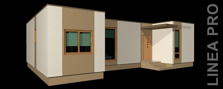 casa prefabricada con superboard 72m2