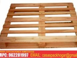 pallets parihuelas de madera