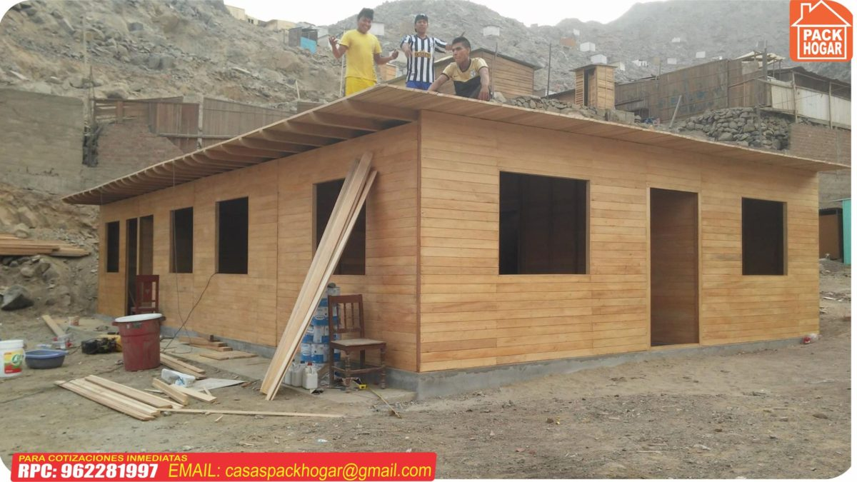 Cual es el precio de una casa prefabricada de madera en Perú – 2020