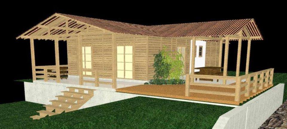 casas prefabricadas de madera modelos campestres