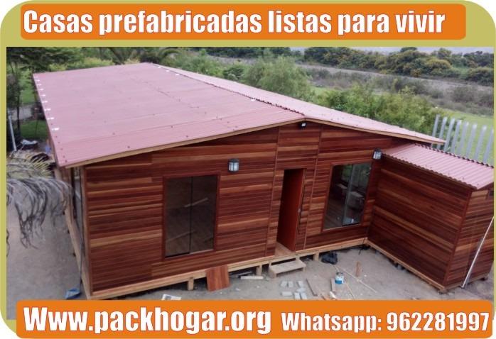 CASAS PREFABRICADAS PARA VIVIR EN EL CAMPO