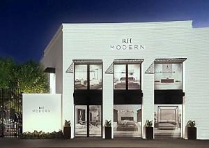 RH Modern store exterior