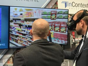 NRF 2017 augmented reality view into store