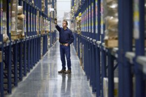 warehouse scanner range