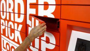 online order pickup lockers