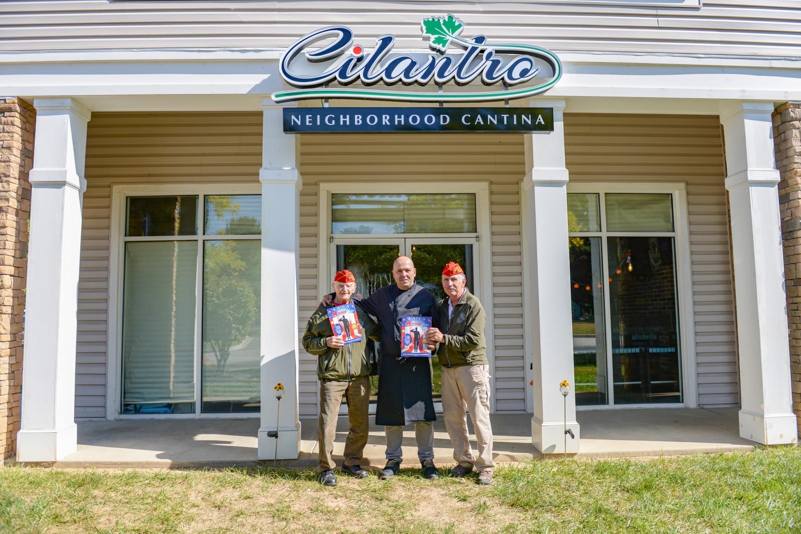 Cilantro's with The Colonels