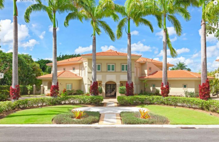 Dorado Beach Country Estates Golf Front Property