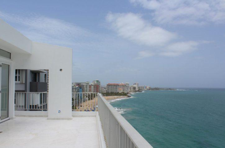 Condado Beachfront PH completely remodeled