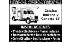 Alquiler de Camión Canasto 45′