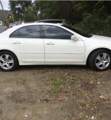 Acura RL Blanco 72k millas V6 piel negra
