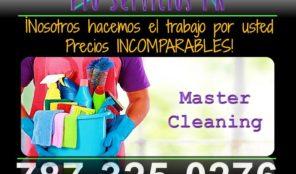 San Juan PR – Servicio de Limpieza  – 787-325-0276