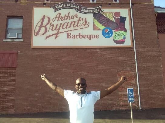 Steve @ Arthur Bryant's Barbeque