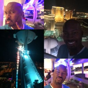 "The Linq Wheel aka ""The Eye"" in Vegas"
