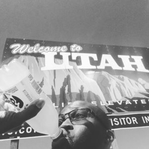 Welcome to Utah sign