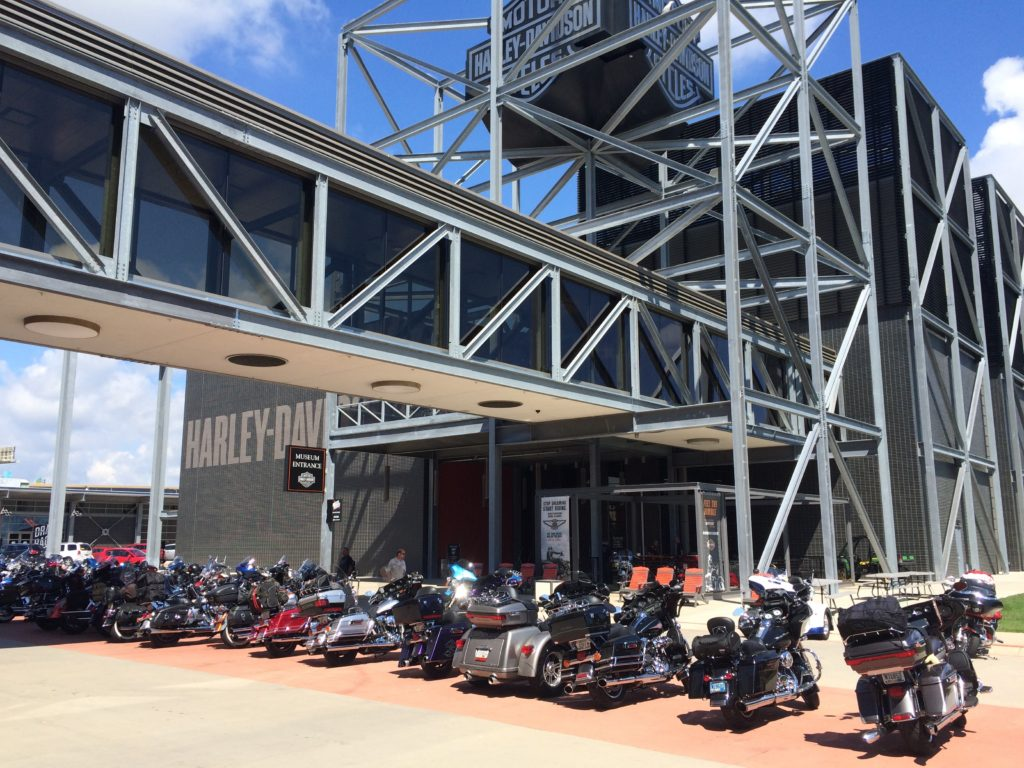 Harley Davidson Museum in Wisconsin - Bikes
