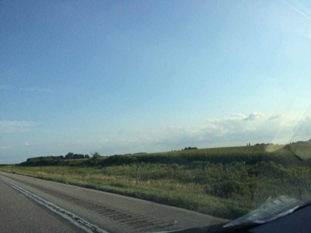 Iowa freeway