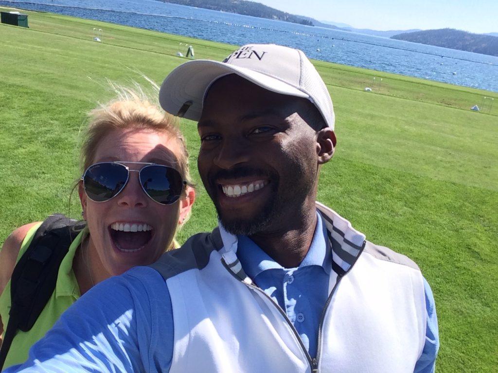Jody and I in Coeur D'Alene, Idaho