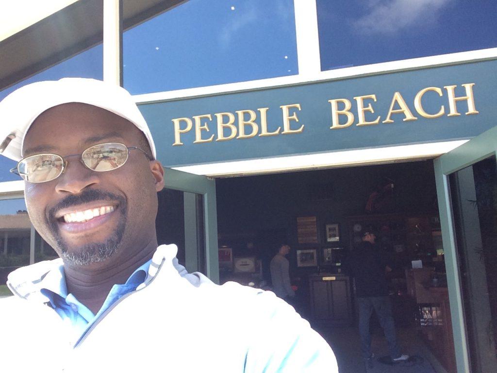 Steve @ Pebble Beach