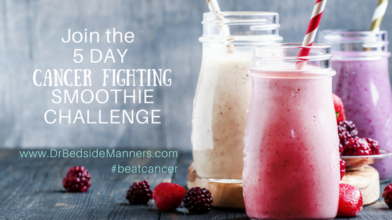 5 day cancer fighting smoothie challenge