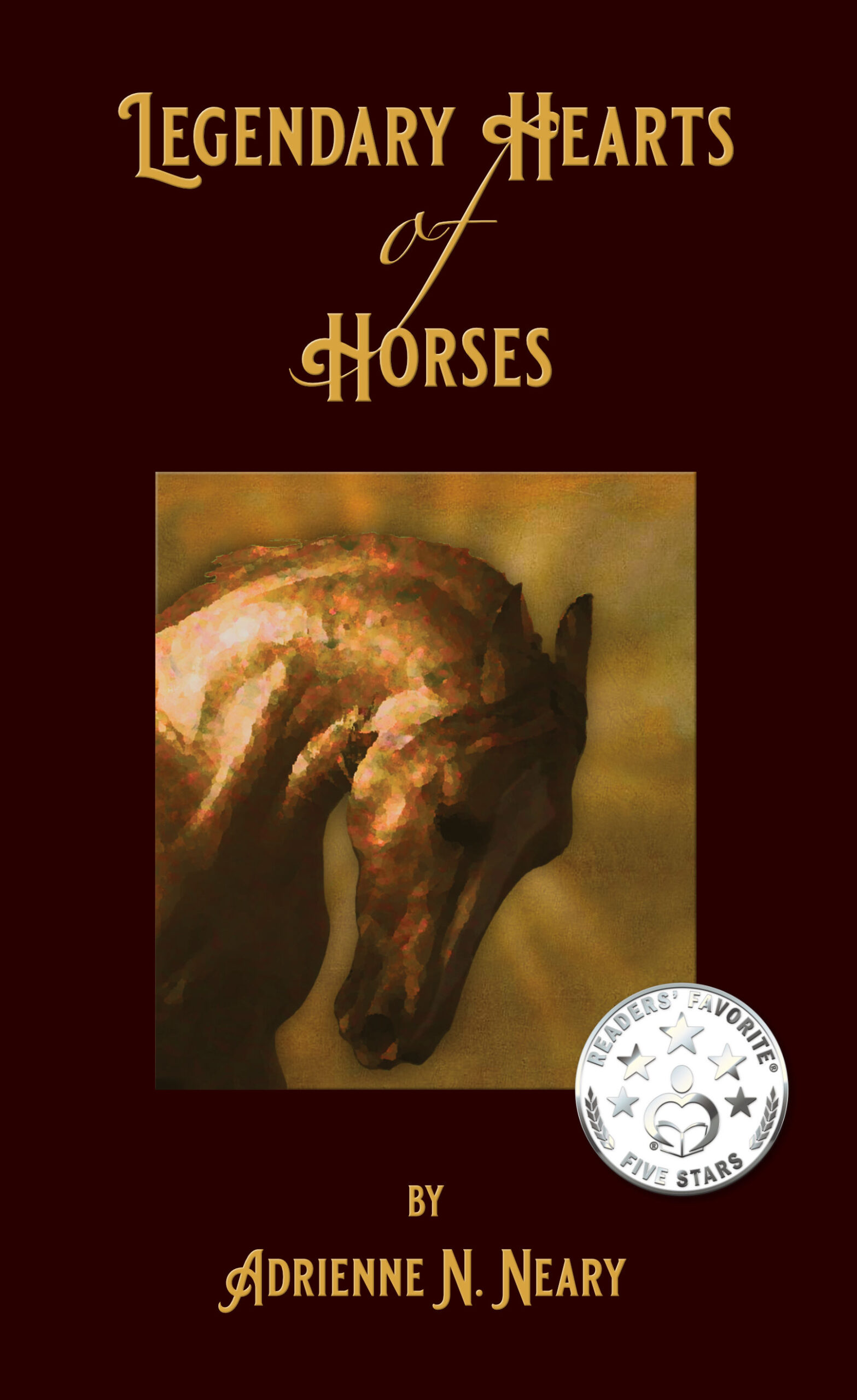 Legendary Hearts of Horses front cover