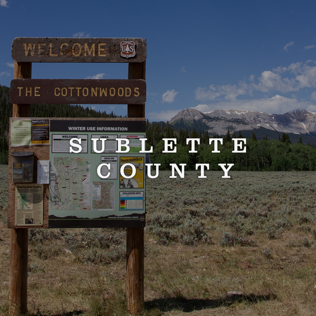 Sublette County Cover Image