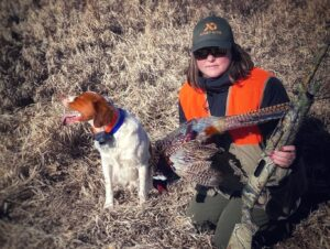 Havely_Holt_With_Pheasant