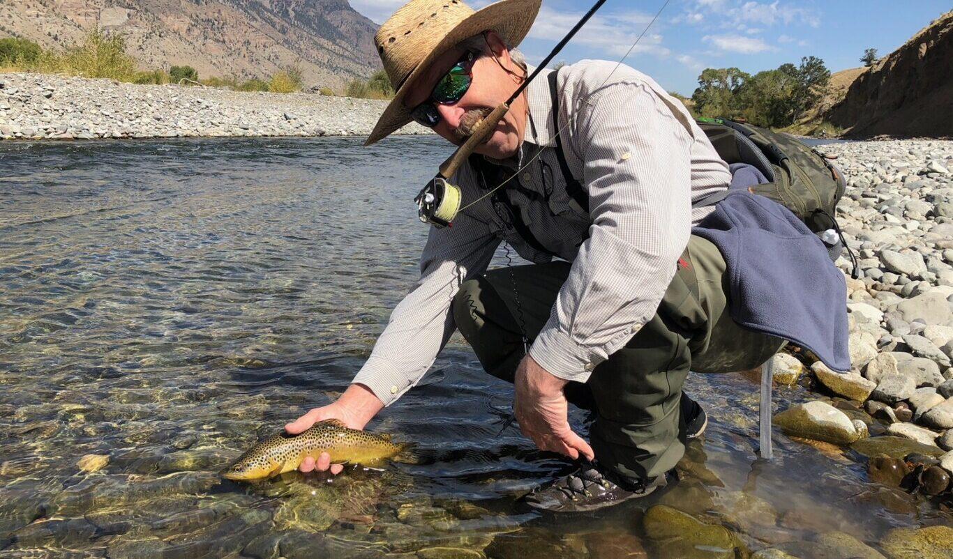 Fishing the South Fork Shoshone Wyoming