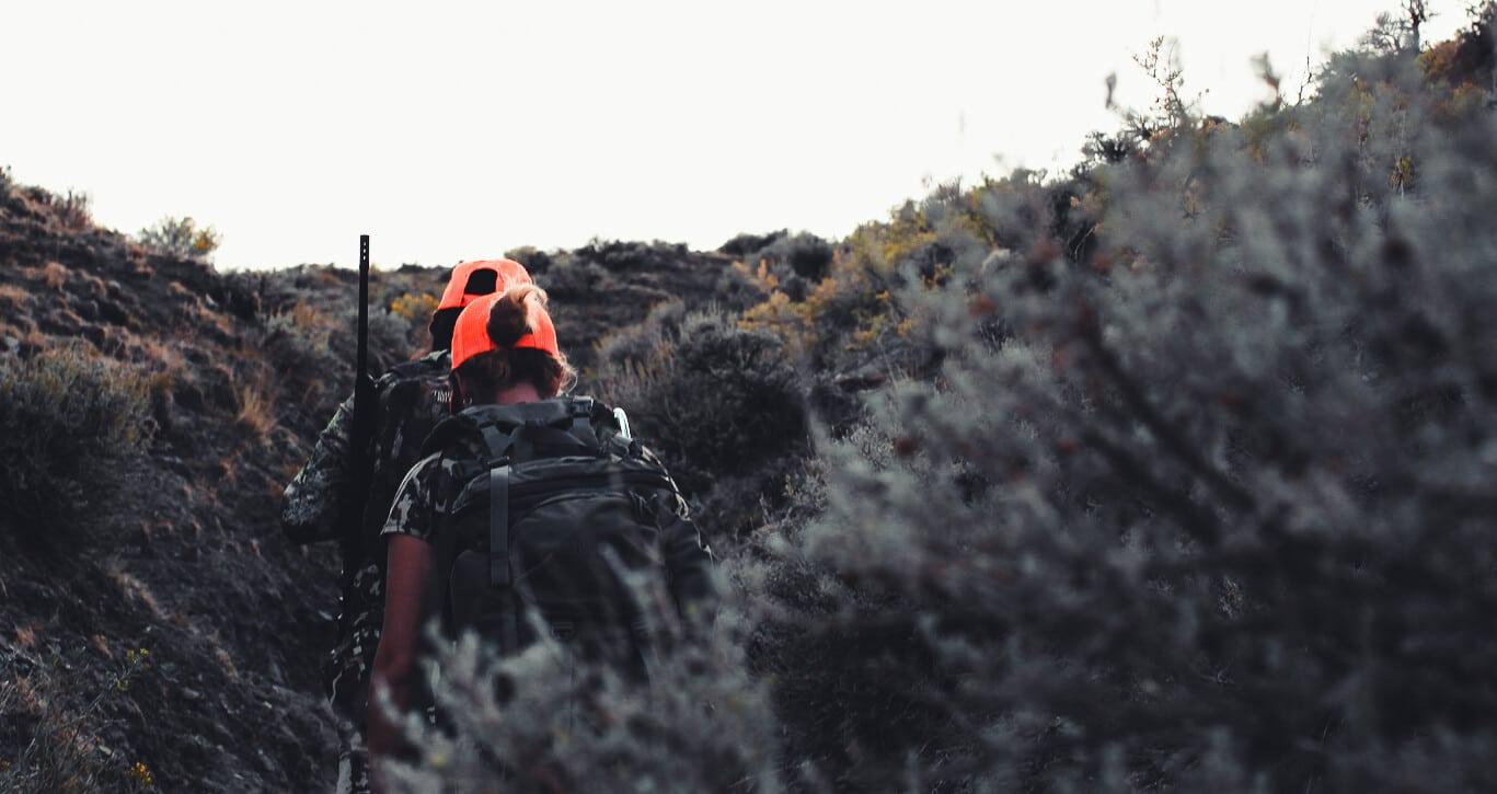 Jess and Joy Antelope Hunting