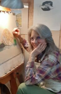 Jenny Reeves Johnson Working