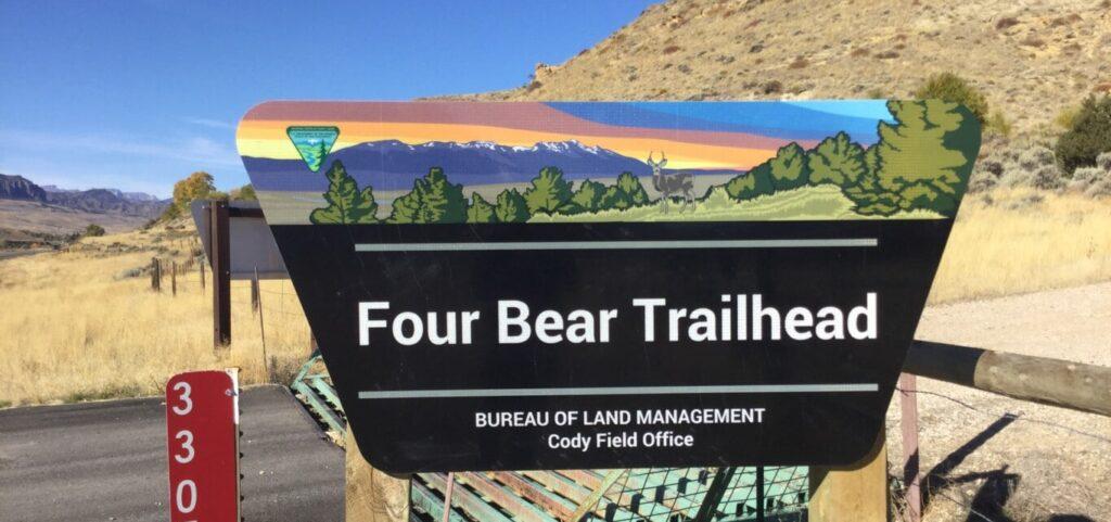 Four Bear Trailhead Photo