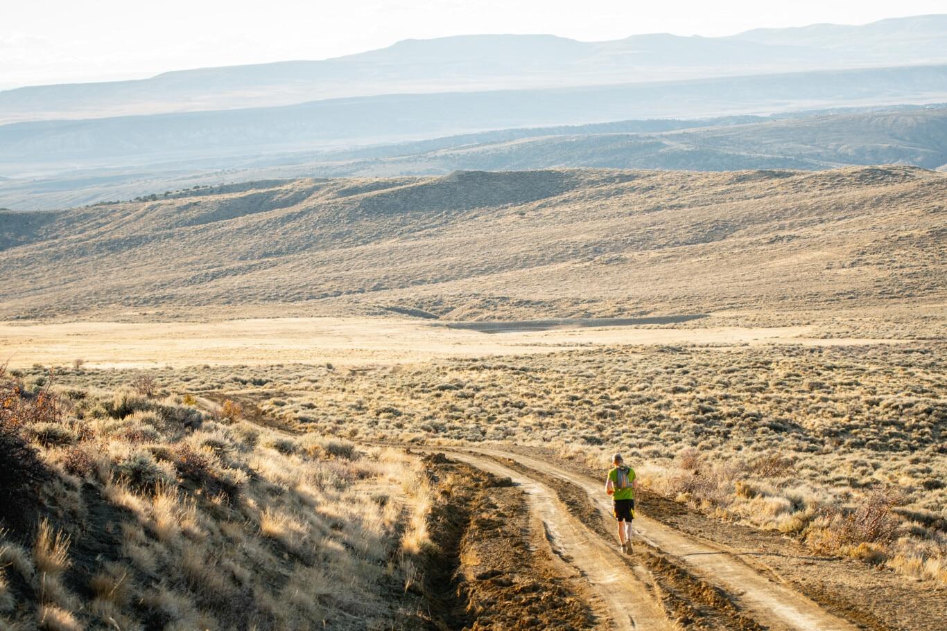 Pat Running Baggs Winter Range